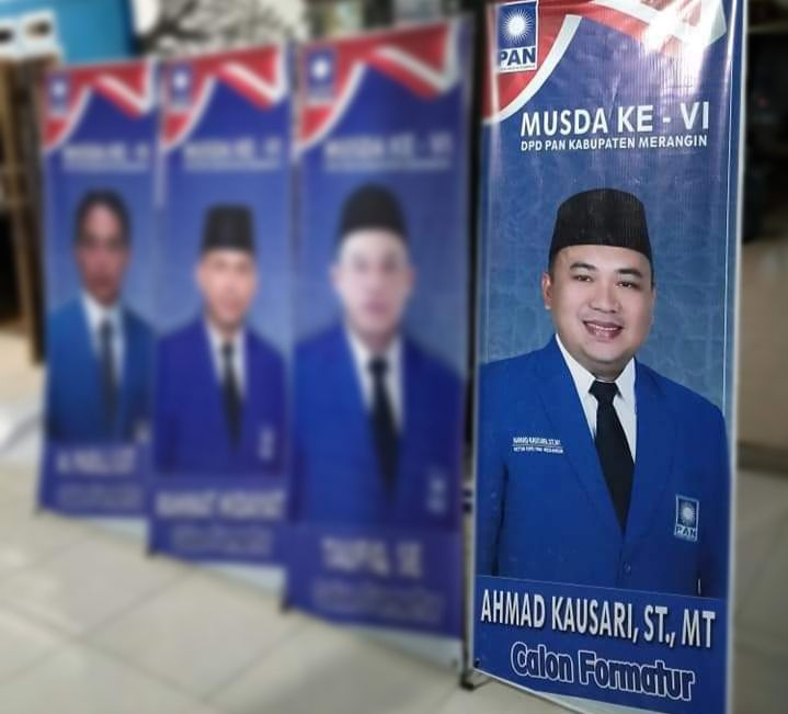 Ahmad Kausari, ST., MT ketua DPD PAN Merangin