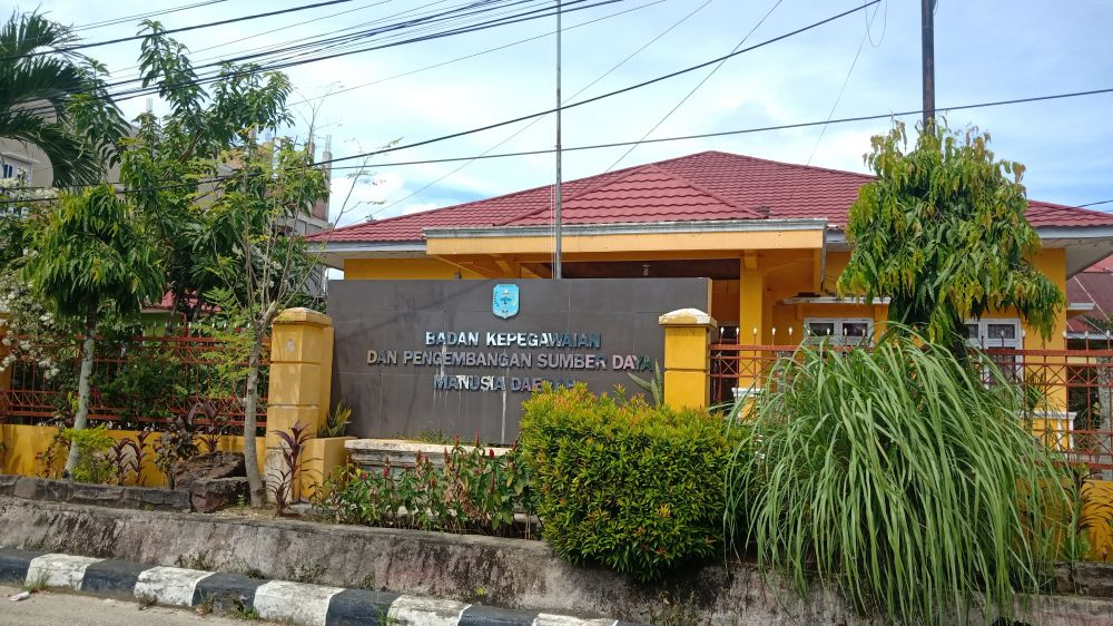 Tampak Kantor BKPSDM-D Merangin
