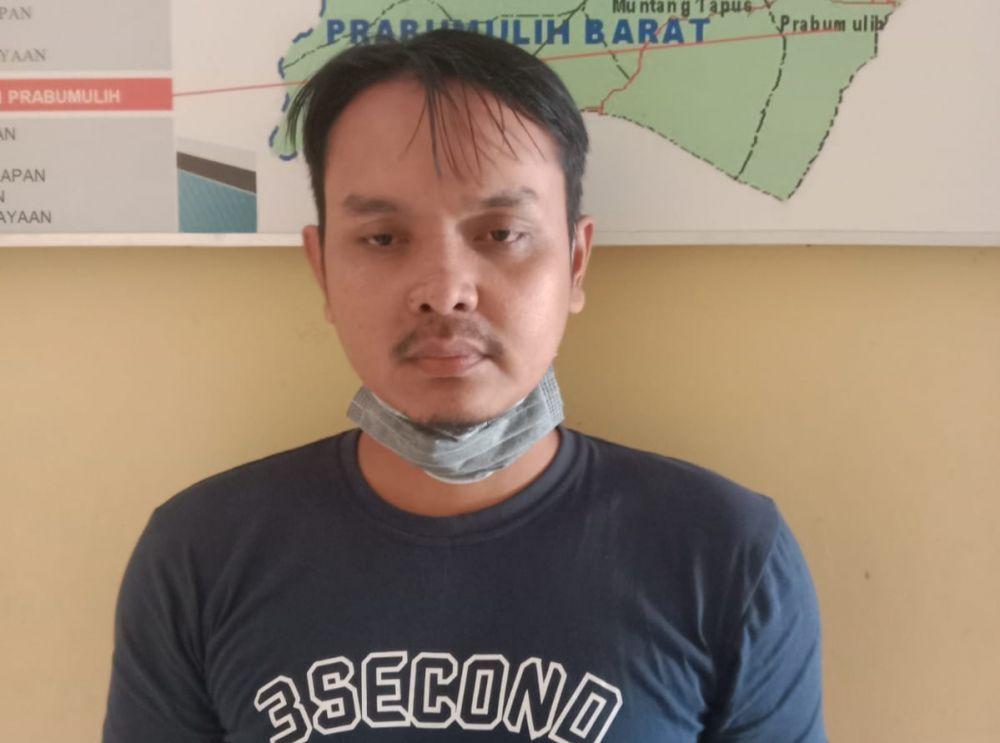 Redian Tubagus Rangga diduga pelaku pembunuhan Plt Kepala BPBD Merangin