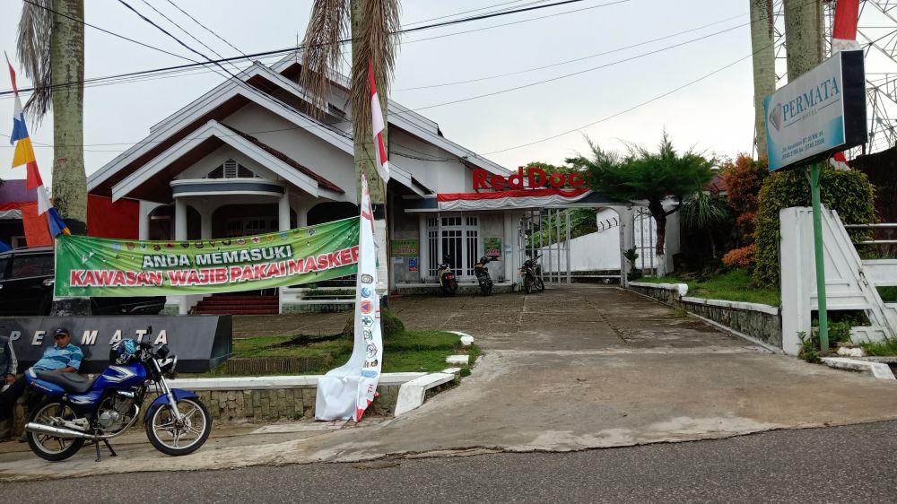 Rumah Isolasi Mandiri Terpusat (Isoter) di Hotel Permata Bangko