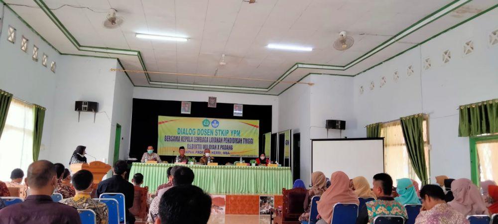 Suasana pertemuan Kepala LL Dikti Wilayah X Padang dengan Empat Perguruan Tinggi di Merangin