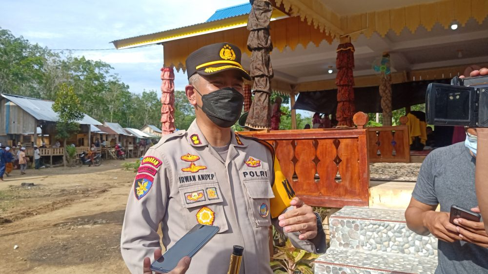 Kapolres Merangin AKBP Irwan Andy Purnamawan, S.IK